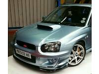 Subaru WR1 Petter Solberg Blobeye