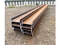 Steel lintel H beam RSJ - 100mm x 55mm / 1.8m-1.9m long