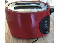 Russell Hobbs two slice red toasters