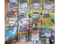 Tom gates books bundle x12 comics kids