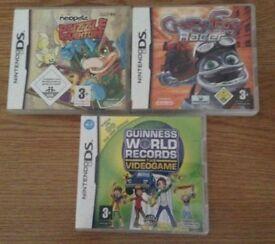 Nintendo DS Kids Games X 3