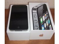 Apple iPhone 4s - 16GB - Black (Vodafone) Smartphone great condition boxed