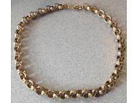 9ct Gold Heavy Belcher Chain