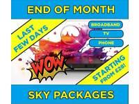 Sky Broadband & TV Packages