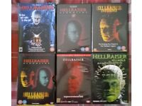 Hellraiser DVD Collection, 7 Films.