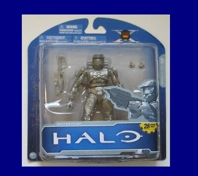 HALO X ANNIVERSARY EDITION MASTER CHIEF ACTION FIGURE MOC RARE FROM McFARLANE!! - Master Chief From Halo