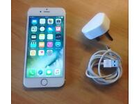 iPhone 6 - 16gb. White/gold. 02 network