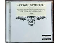 "Avenged Sevenfold featuring ""Almost Easy"", ""Dear God"", ""Afterlife"" & ""A Little Piece of Heaven"" [CD]"