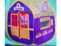 ELC POP-UP PLAYHOUSE WITH 4 SHOPS ON THE 4 SIDES