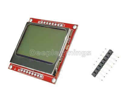 New Lcd Display Screen Modul Module Fr Arduino Nokia 5110 Diy 8448