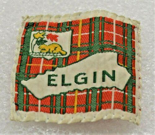 ELGIN DISTRICT 8 LINES BELOW BEAVER Boy Scout Uniform Badge Cdn. (ONE2B) USED