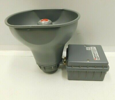 New Federal Signal Selectone 300gc-120 Series D Siren Alarm Horn Speaker