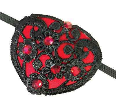 Lace Eye Patch Steampunk Pirate Fancy Dress Up Halloween Adult Costume Accessory - Halloween Forums