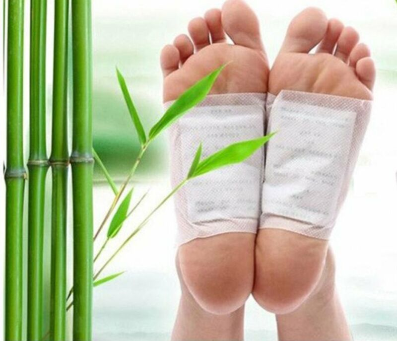 20 PCS Detox Foot Pads Kinoki Patch Detoxify Toxins Fit Health Care Pad Cleanse