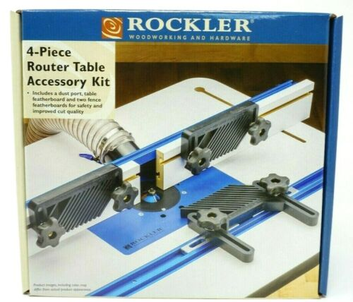 Rockler 4-Piece Router Table Accessory Kit - Free Expedite Shipping (1-3 Days)