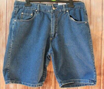 "Iceberg blue denim shorts nice detail size 38""  A332"