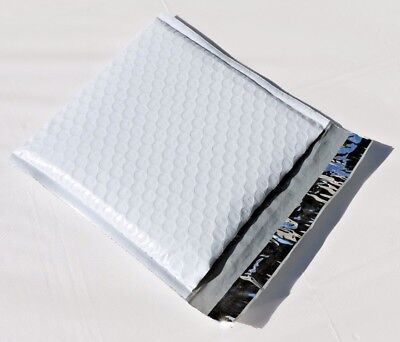 250 Hardshell 7.5x10 Dvd Tuff Poly Bubble Mailers Self Seal Honeycombs Dimples