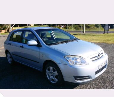 Toyota Corolla Hatch.  Great first car.  Sell or swap Glen Innes Glen Innes Area Preview