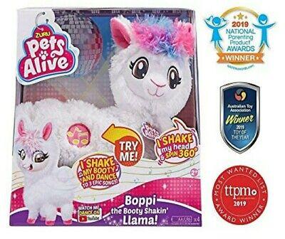 Zuru Pets Alive Boppi The Booty Shakin' Llama! New Free Shipping