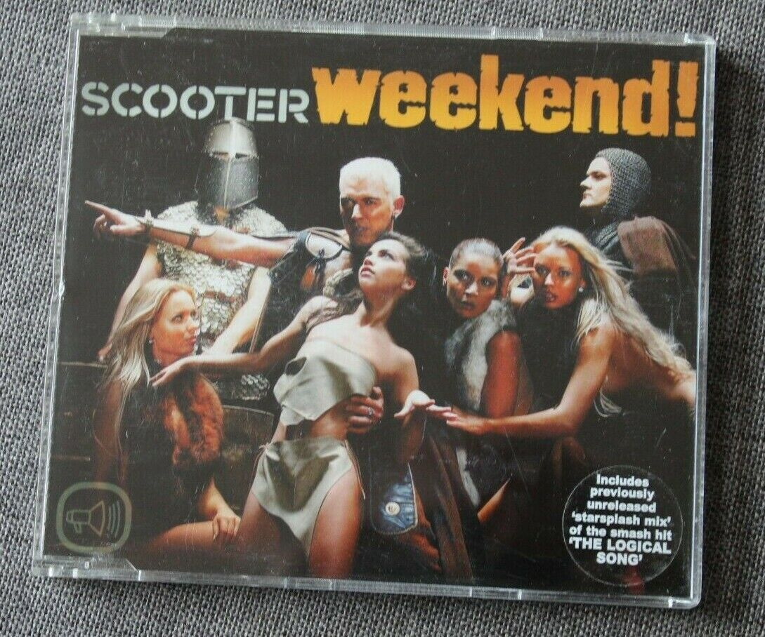 Scooter, week end !, maxi cd