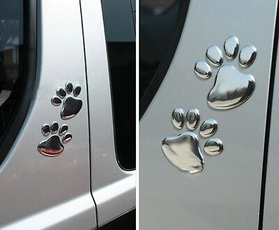 Hotsale 3D Car Window Bumper Body Decal Sticker Bear Dog Animal Paw Foot Prints