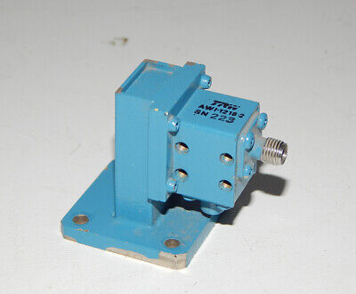 Trw Awi-1218-2 Waveguide Adapter Wr62 To Sma