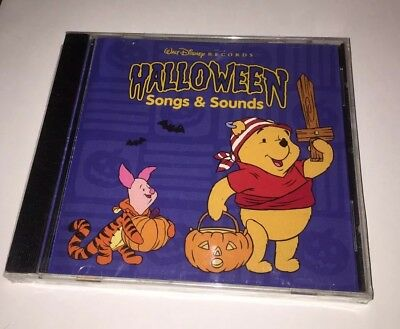 Halloween Songs & Sounds by Walt Disney Records CD 1997 NEW SEALED Pooh Mickey (Disney Halloween Songs)
