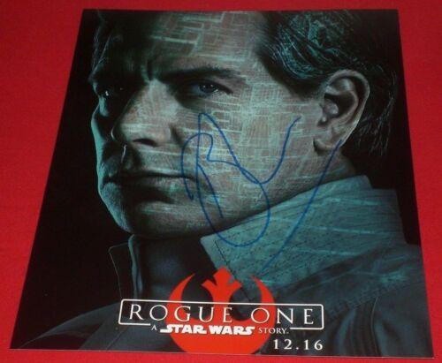 BEN MENDELSOHN SIGNED ROGUE ONE STAR WARS PROMO POSTER 8X10 PHOTO AUTOGRAPH COA