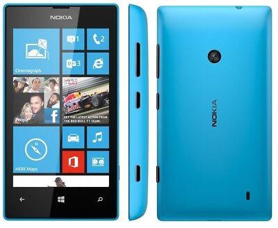New Nokia Lumia 532 Blue Dual Sim 4GB Windows 3G Unlocked Whatsapp Smartphone