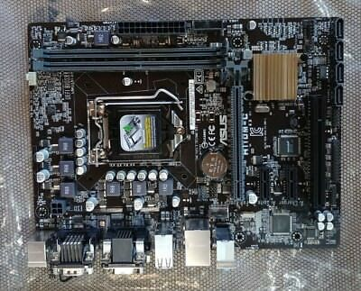 Asus H110M-C Motherboard with I/O shield Rear audio port does not work(15p4685)