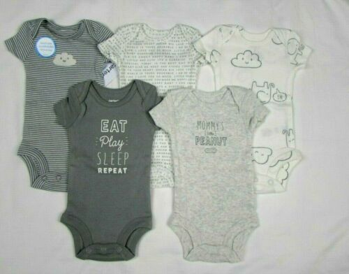 Baby Boys Clothes, Preemie Carter's Little Baby Bodysuits NEW WITH TAGS