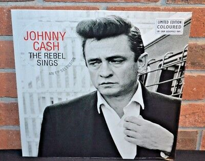 Johnny Cash   The Rebel Sings  Limited 180 Gram Colored Vinyl Lp New   Sealed