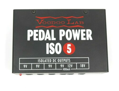 Voodoo Lab Pedal Power ISO-5 Factory Direct Demo Model w/ 5-Year Warranty