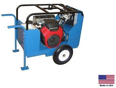 Hydraulic Power Unit Industrial - 24 Hp Honda - 15 Gpm - 2000 Psi 1 Stage 13gr