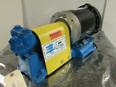 Idex Viking F432 Pump Max Motion Mpr-124c Motor 1725rpm 12hp 1.5gpm Nnb