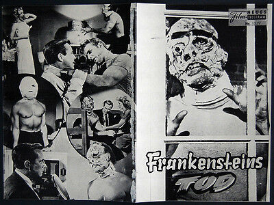 I WAS A TEENAGE FRANKENSTEIN – GARY CONWAY – ORIGINAL HORROR AUSTRIAN PROGRAM