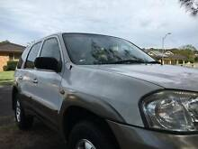 2002 MAZDA TRIBUTE LOW KM BOOKS AUTO IMMACULATE COND Bonnells Bay Lake Macquarie Area Preview