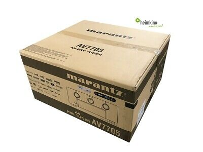 Marantz AV7705 11.2 AV-Vorstufe, HDR, BT.2020, HDCP2.2 (Schwarz) NEU Fachhandel