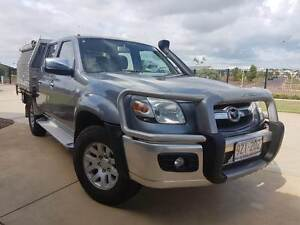 Mazda BT50 2008 Turbo Diesel 4x4 Ute alloy tray very low KM Darwin City Preview