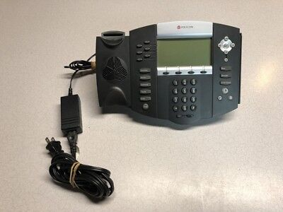 Polycom Soundpoint Ip 650 Ip650 Sip Phone No Handset