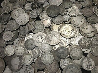 ✯ SILVER Old U.S. Coin Lots ✯ Mercury & Barber Dime Barber Quarter ✯ Estate Sale