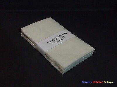 """50 New Glassine Envelopes #3 - 2 1/2"""" x 4 1/4"""""""