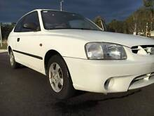 2000 HYUNDAI ACCENT HATCHBACK AS NEW 65000KM SERVICE BOOKS Bonnells Bay Lake Macquarie Area Preview