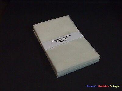 """50 New Glassine Envelopes #2 - 2 5/16""""' x 3 5/8"""" - Stamp Philately Supplies"""