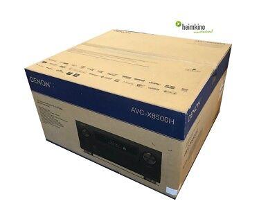 Denon AVC-X8500H 13.2 AV-Receiver Verstärker Auro 3D HDR HEOS (Silber)