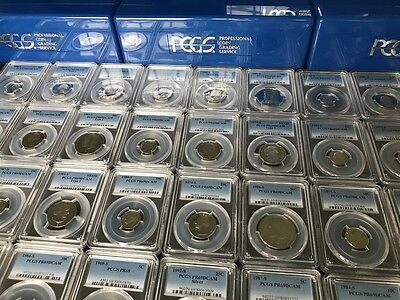 Estate Sale    Pcgs Slabbed Graded U S  Proof Coin Hoard   1 Slab Lot   Bonus