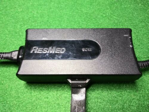 Genuine 3-Pin DIN 90W 24V 3.75A AC Adapter For Resmed S9 369102 S10 CPAP Machine