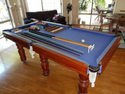 slate pool table 7u0027 x - Slate Pool Table