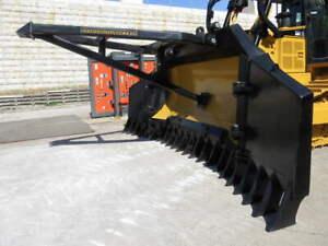 Caterpillar D6R / D6T dozer Bi-Folding Stick Rake Yass Yass Valley Preview