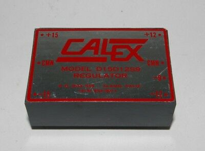 Vintage NOS Calex DC Power Regulator 15-12 VDC Model DL15D12S9